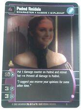 Star Wars Padme Amidala Promo Card #05 Padme Amidala,W.O.T.C. 2002 Holofoil