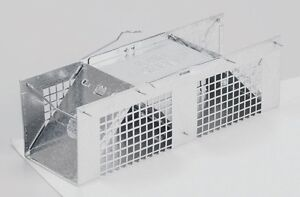 "#1020 HAVAHART Live Small Animal Trap 10"" Steel Cage Mice Moles Voles Shrew NEW!"