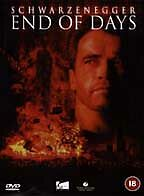 End of Days DVD Schwarzenegger, Byrne and Robin Tunney. ***NEW AND SEALED***
