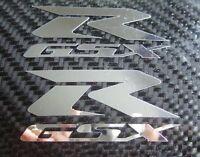 2 Chrome GSXR GSX R Decals Stickers suzuki hayabusa 600