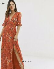 BNWT Hope & Ivy ASOS Ladies Maxi 1970's Inspired Size 10 (L3)