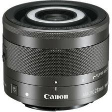 Canon EF-M 28mm f/3.5 Macro IS STM Lens 1362C002 Black