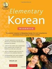 Elementary Korean Workbook: (Includes Audio Disc) by Insun Lee (Paperback, 2014)