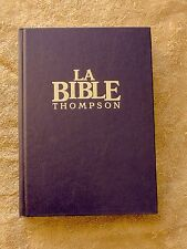 French Bible, Thompson Chain Reference, Colombe, Revised Segond,La Sainte Bible