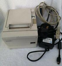 Epson TM-T88II M129B POS Thermal Receipt Printer with PSU - Used/Fair Condition