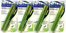 (4) Maybelline Define-A-Lash Lengthening Mascara Sealed 801 - Very Black