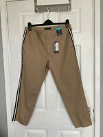 BNWT M&S Collection Women's Natural Mix Chinos Size 14 Short