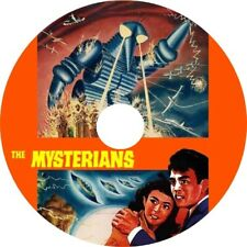 The Mysterians (1959 Japanese Sci-Fi film in dubbed English) Mod Dvd disc only