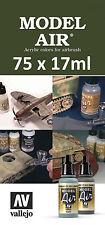 Cualquier Modelo 75 X Vallejo Air-Elige Cualquier Color De 17ml/auxiliar/de otros rangos