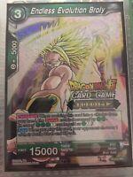 JUDGE RARE Foil Endless Evolution Broly P-033 PR Dragon Ball Super Card Mint