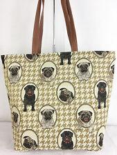 Tapestry Signare Pug Large Sized Dog Handbag Shoulder Bag