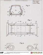 LEGO: Limited Edition Print - German Toy Car Patent 1963 [Lego Originals] NEW