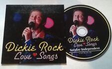DICKIE ROCK * LOVE SONGS  * RARE 15 TRACK IRISH PROMO CD 2007 EUROVISION