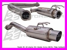 "Honda Civic 06 07 08 09 10 11 K20a Si Coupe TSUDO 2.3/4""  JDM S2 Catback Exhaust"