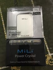 MiLi Power-Crystal 2000mAh Extended Rechargeable Battery pocket size! Backup