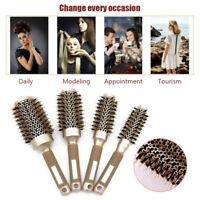 Professional Thermal Ceramic & Ionic Round Barrel Hair Brush Boar Bristle New
