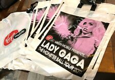 30 x Lady Gaga 2011 Monster Ball Tour Official Plastic Merchandise Bags