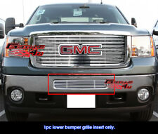 Fits GMC Sierra 2500HD/3500HD Bumper Perimeter CNC Grille Grill Insert 2011-2014
