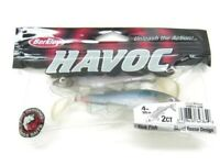 "Berkley 1280555 Havoc Ghost Minnow Sick Fish 4"" Soft Bait Fishing Lure"