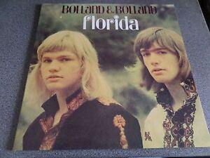 BOLLAND & BOLLAND ~ Florida original Dutch LP Negram records 1972