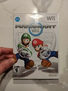 Mario kart wii Game, Case, And Insert.  No Instructions