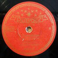 """Gemischter Chor - O Tannenbaum - Süßer die Glocken... - Polydor - /10"""" 78 RPM"""