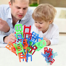 18X balance chairs board game funny colorful toys kids educational balance LWYLY