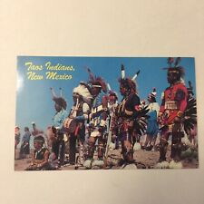 Taos Indians Dance Team Gallup Intertribal Ceremonial Unposted Postcard