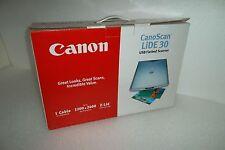 Canon CanoScan LiDE 30 USB Flatbed Scanner 2400dpi Z-Lid 48-Bit LED 7890A002 NEW