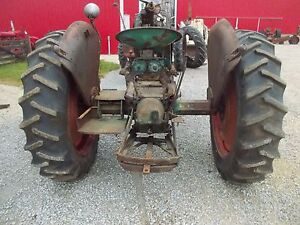 Firestone 13.6x 38 Field & Road F151 tractor tires 95% tread & Oliver 70 80 rims