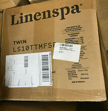 Linenspa 10 Inch Memory Foam and Innerspring Hybrid Mattress - Medium Feel - Twi