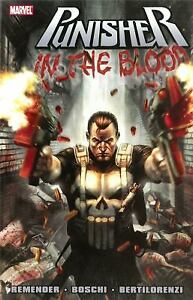 Punisher : In the Blood by Rick Remender (2011, Trade Paperback) Marvel NEW