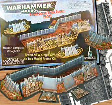 1 WALL of MARTYRS~IMPERIAL DEFENSE LINE GW TERRAIN=Games Workshop: WARHAMMER 40K
