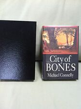 MICHAEL CONNELLY CITY OF BONES SIGNED LIMITED EDITION, MCMILLAN