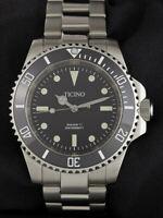 Ticino Sea viper ll submariner diver watch miyota 8215
