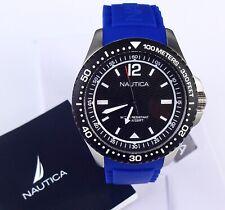 Men's Nautica MAU SPORT Blue Silicone Band Watch NAPMAU002