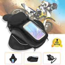 Magnetic Motorcycle Motorbike Oil Fuel Tank Bag Waterproof Saddlebag 4 Packet US