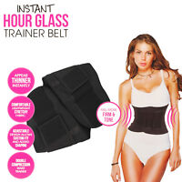 Women Underbust Waist Trainer - Slim Body Shaper Corset Belt Cincher Shapewear