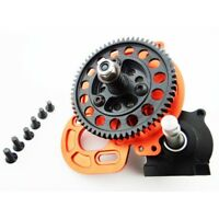 Hot Racing SCP38HT03 Axial SCX10 Heavy Duty Locked Transmission (Long Output)
