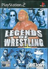 Legends of Wrestling Sony Playstation 2 PS2 11+ Fighting Game