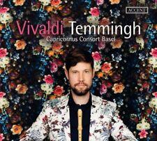 Konzerte für Blockflöte, 1 Audio-CD CD Temmingh,Stefan/Capricornus Consort Bas