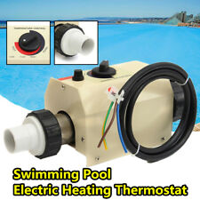 2KW 220V Water Swimming Pool and SPA Bath Heater Electric Heating Thermostat