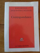 """CORRESPONDANCE """"J.Cocteau - J.E.Blanche"""" EO, TB état ,ENVOI GRATUIT"""