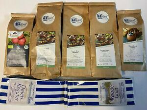 7x 100g Kräutertee Früchtetee Tee Mischposten Teemischungen Bio Posten MHD Ware