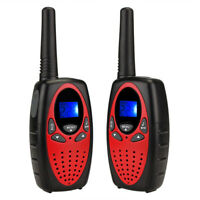 Professional 2pcs Walkie Talkie 2- Way Radio Set 8- Channel PMR Max 5km Reach