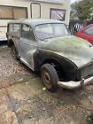 Morris Minor Traveller Spares Or Repair Or Re Shell Cherished Number