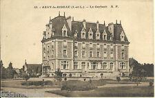 Carte postale, AZAY le RIDEAU, Le Gerfault, non écrite au revers.
