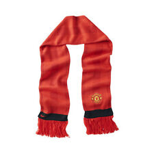 NEW NIKE MANCHESTER UNITED FC ENGLAND SOCCER FOOTBALL RED SCARF RED EVILS