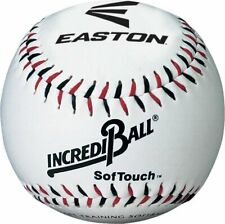 New Easton Incrediball 9 inch, 9 SofTouch Training Baseball White 6034142