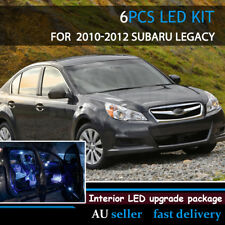 Interior Light Upgrade LED Replace Bulbs Kit White For Subaru Liberty 2010-2012